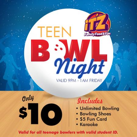 teen bowl night